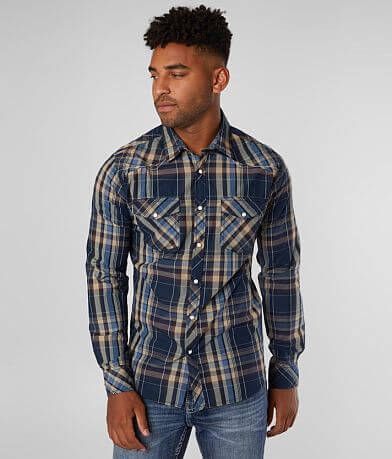 Reclaim Plaid Tailored Shirt