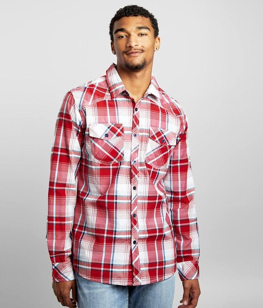 Reclaim Plaid Standard Shirt front view