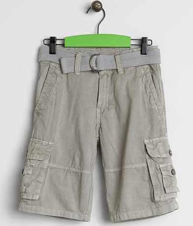 Boys - Buckle Black Lake Cargo Shorts