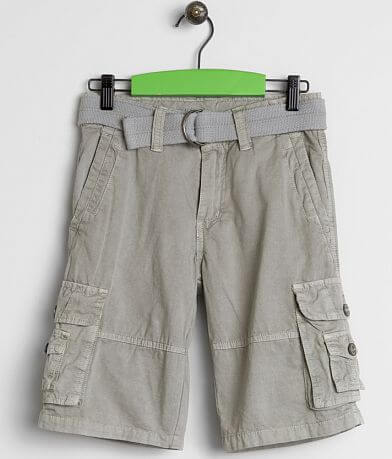 Boys - Buckle Black Lake Cargo Shorts