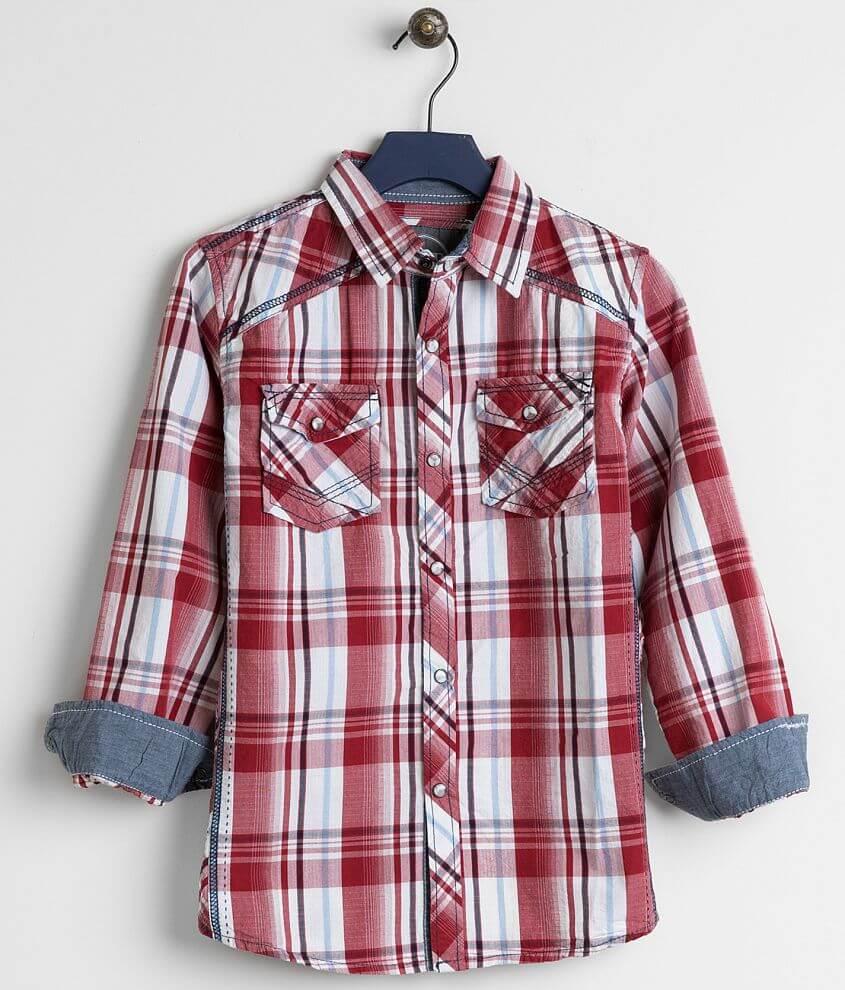 Boys - BKE Tuscola Shirt front view