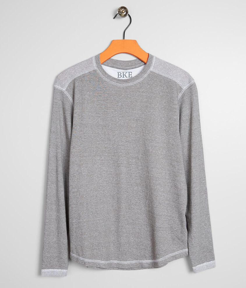 Boys - BKE Pieced Knit T-Shirt front view