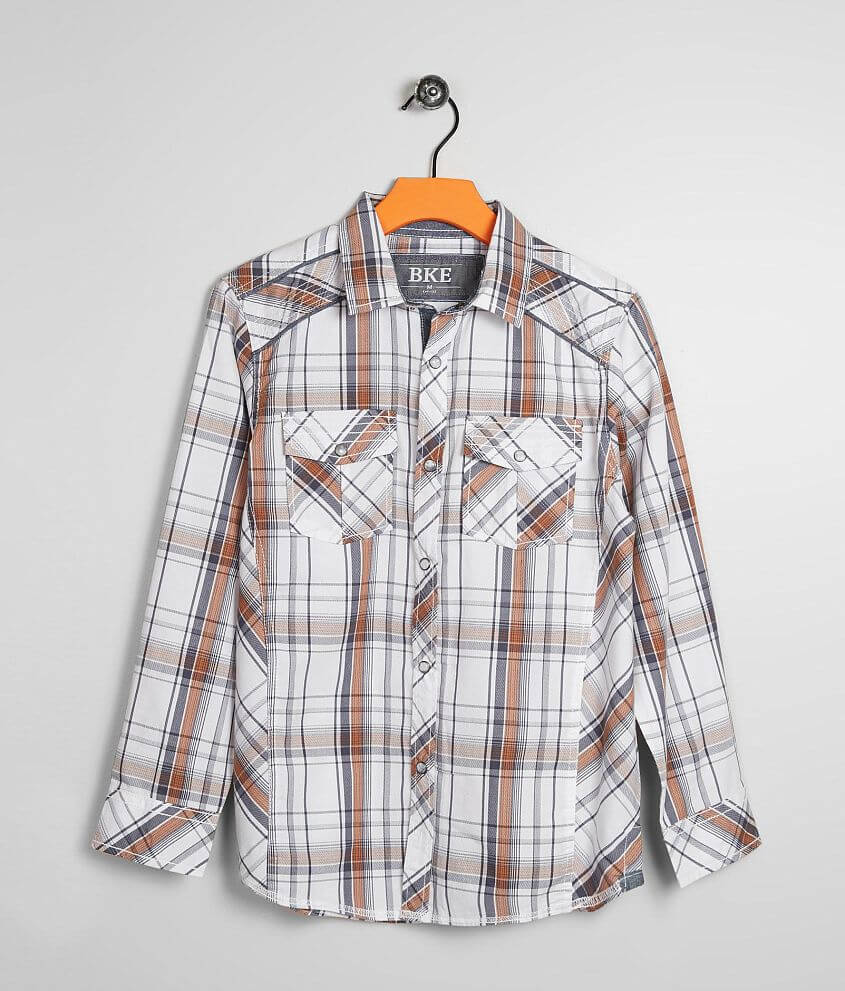Boys - BKE Mansfield Shirt front view
