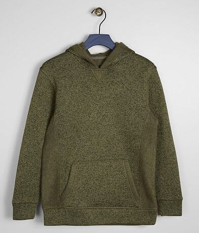 Boys - BKE Mixed Yarn Hooded Sweatshirt