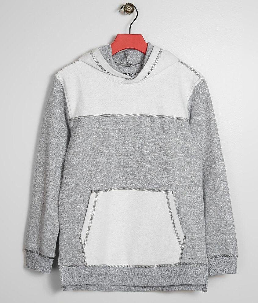 Boys - BKE Reverse Fleece Hooded Sweatshirt front view