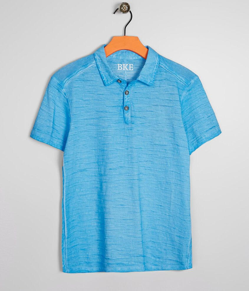 Boys - BKE River Wash Polo front view
