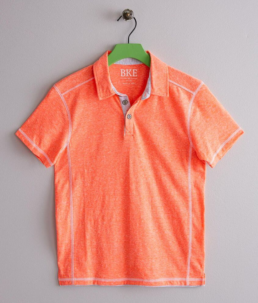 Boys - BKE Mixed Yarn Polo front view