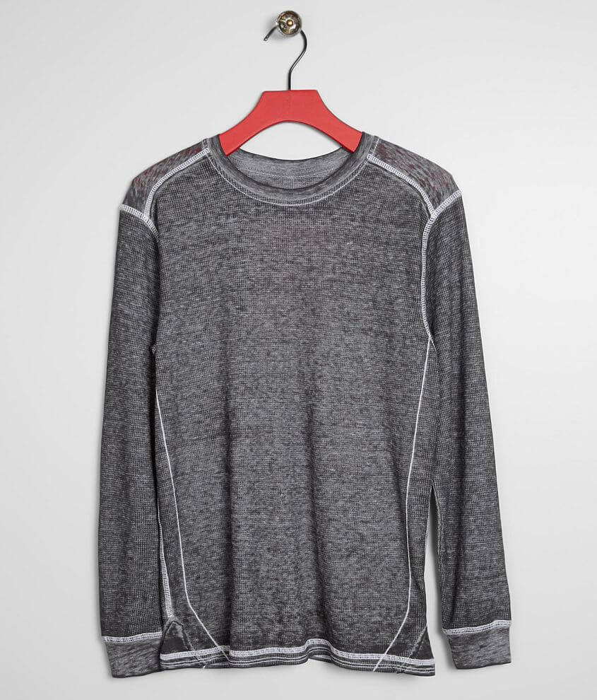 Boys - Buckle Black Burnout Thermal front view
