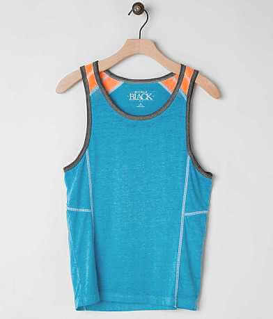 Boys - Buckle Black Kick It Tank Top