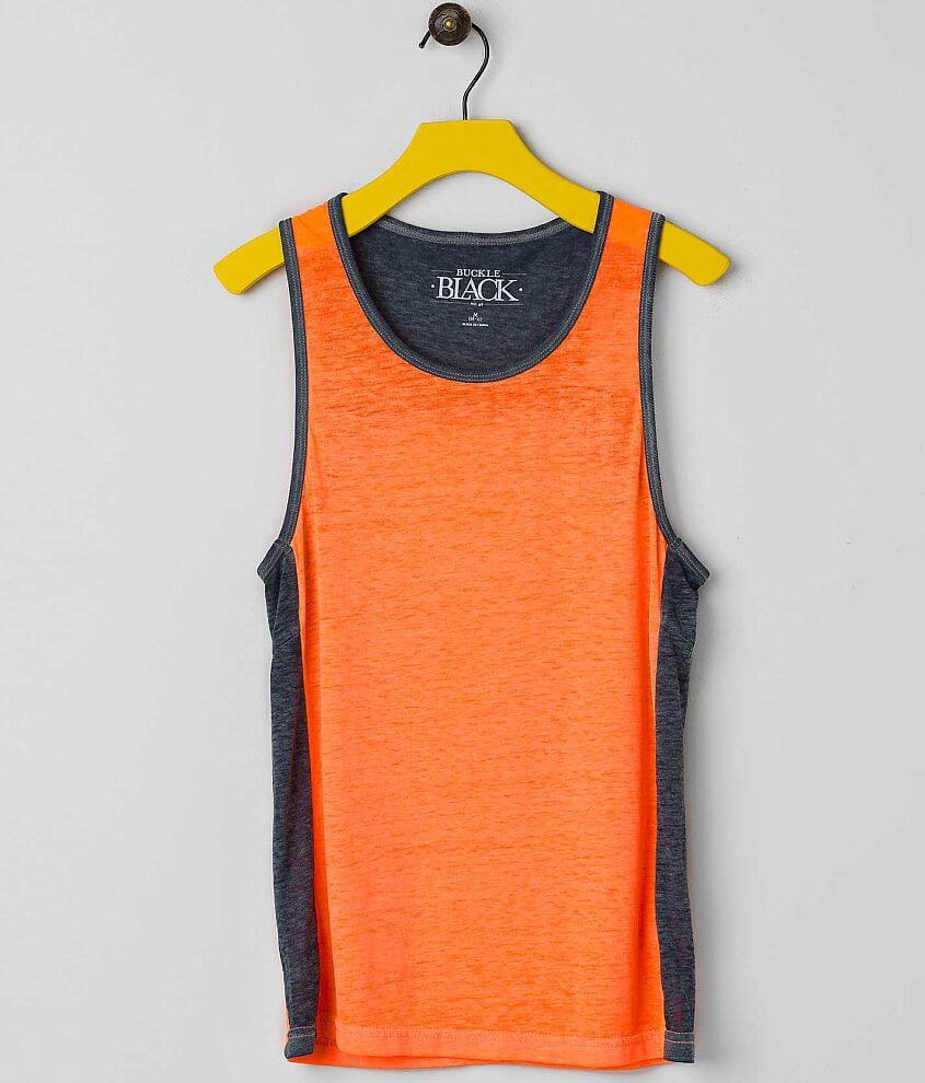 Boys - Buckle Black Bay Tank Top front view