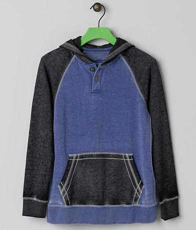 Boys - Buckle Black The Mist Henley Sweatshirt