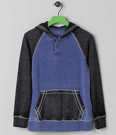 Boys - Buckle Black The Mist Henley Sweatshirt