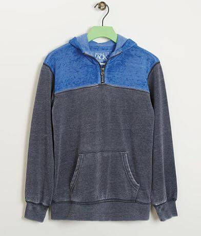 Boys - Buckle Black Hooded Sweatshirt