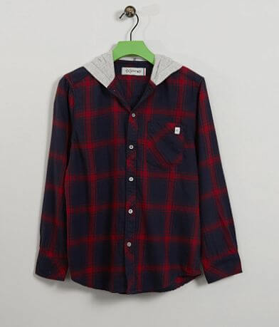 Boys - Departwest Hooded Shirt