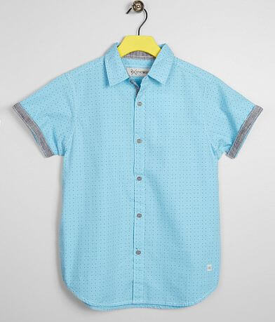 Boys - Departwest Triangle Print Shirt