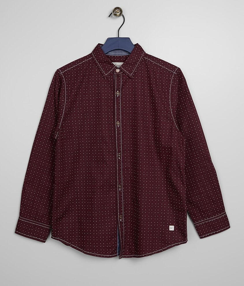 Boys - Departwest Printed Shirt front view