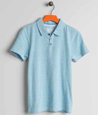 Boys - Reclaim Heathered Polo