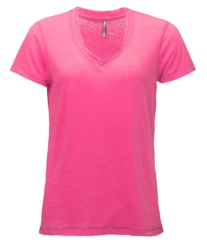 BKE core Burnout T-Shirt front view