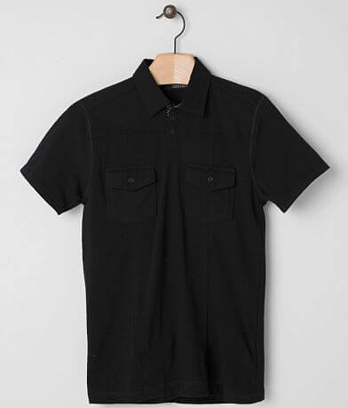 Buckle Black Polished Polo