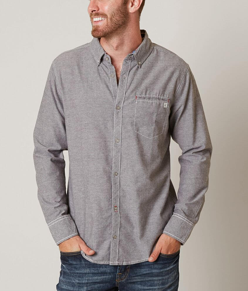 Departwest Heathered Shirt front view