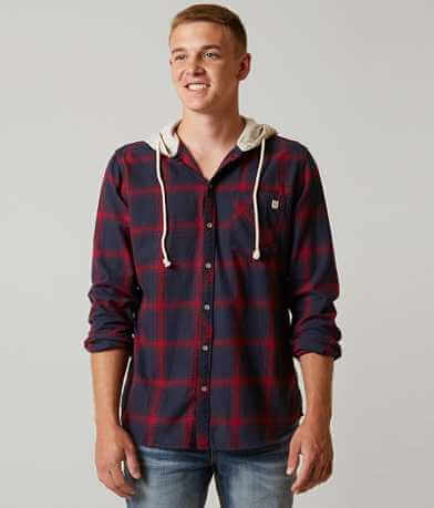 Departwest Flannel Hooded Shirt