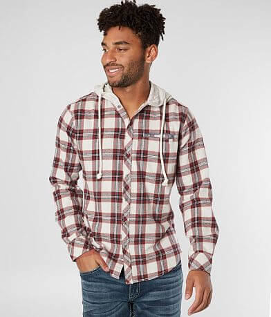 Departwest Hooded Flannel Shirt