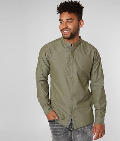 Departwest Mandarin Collar Shirt
