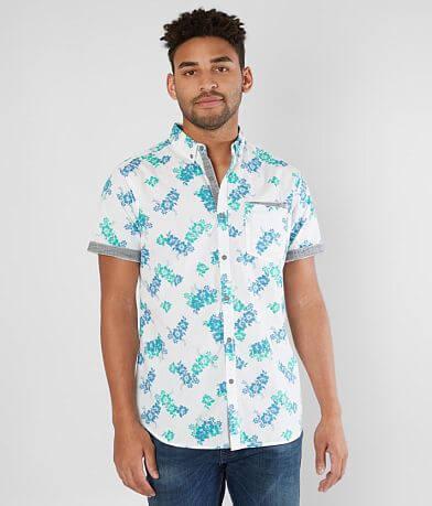 Departwest Floral Woven Shirt