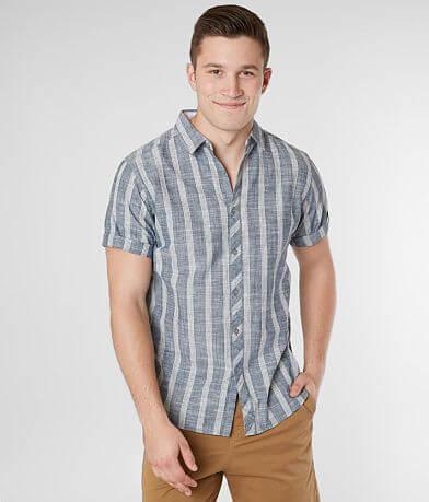 Departwest Striped Woven Shirt