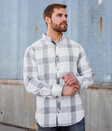 Departwest Plaid Flannel Shirt