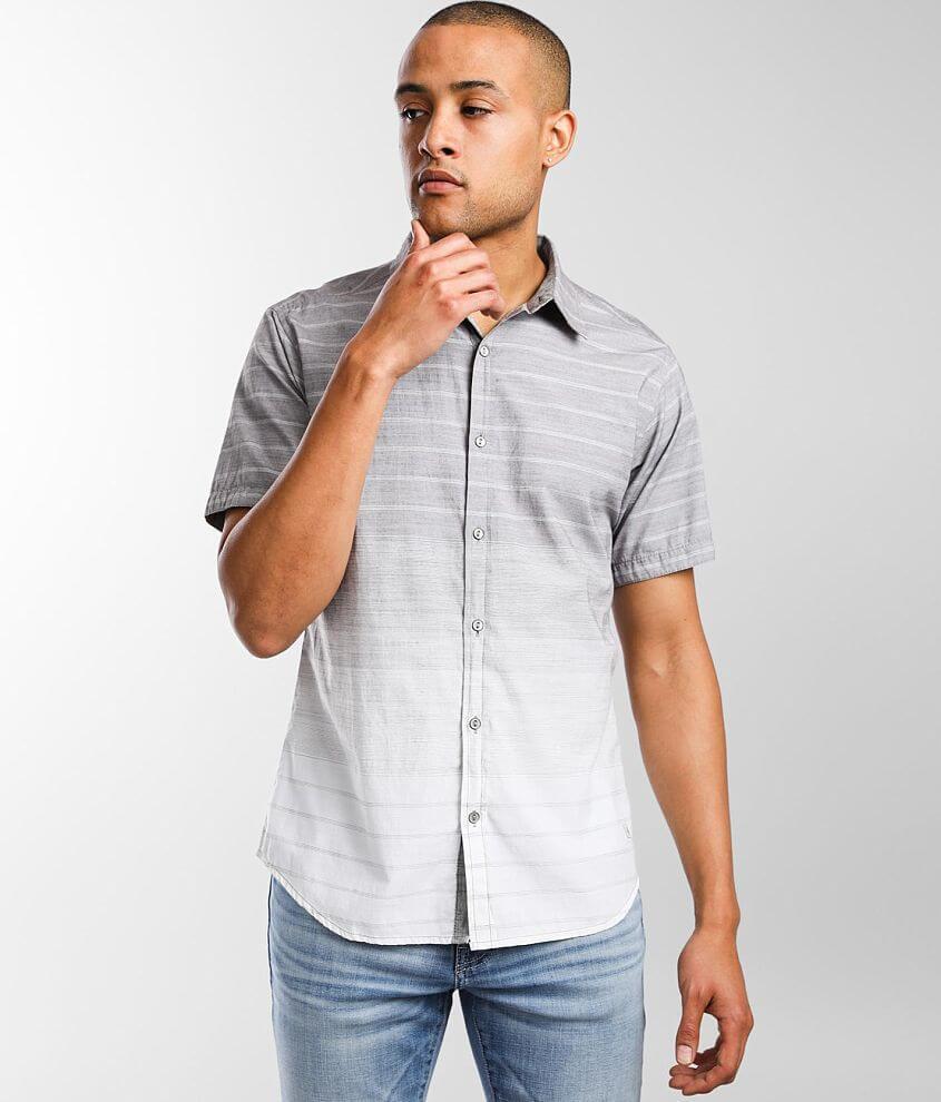 Departwest Gradient Striped Shirt front view