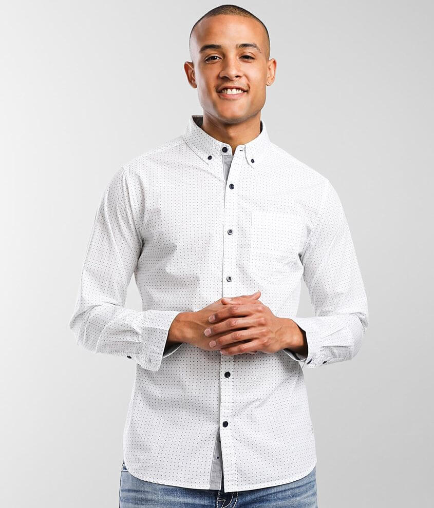 Departwest Geo Woven Shirt front view