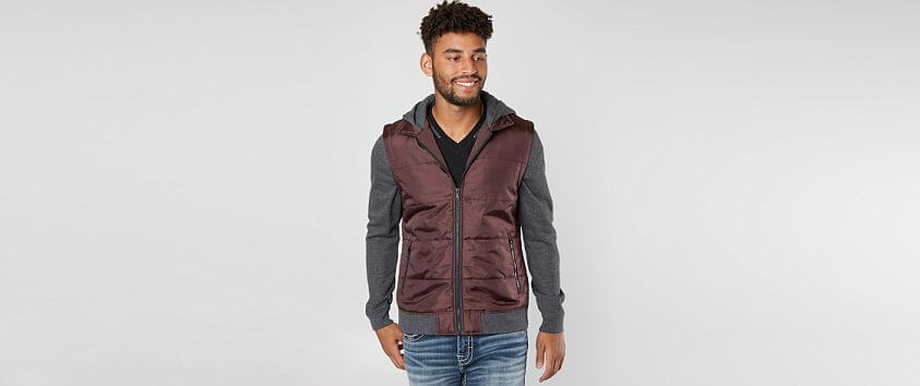 Departwest Puffer Jacket front view