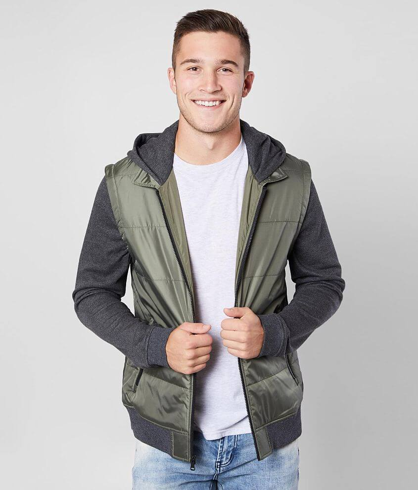 Departwest Hooded Puffer Jacket front view