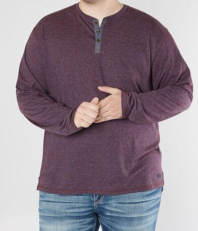 Outpost Makers Heathered Henley - Big & Tall
