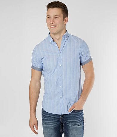 Outpost Makers Striped Stretch Shirt