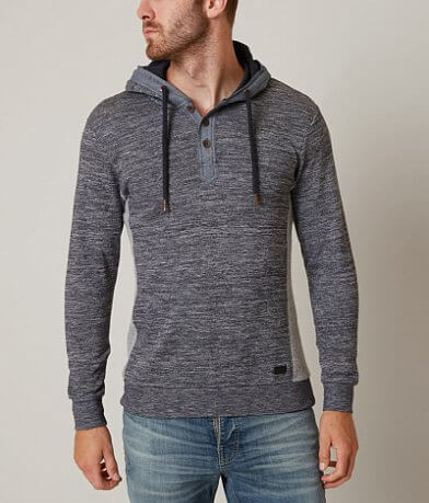 Outpost Makers Henry Hooded Henley Sweatshirt