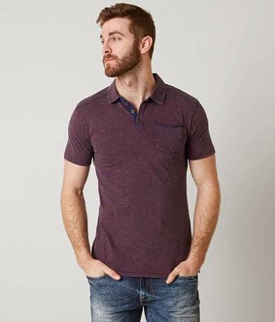 Outpost Makers Indigo Polo