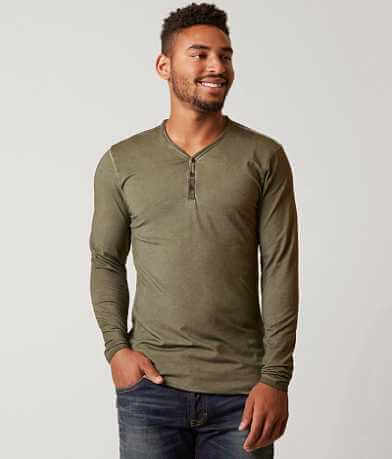 Outpost Makers Colder Wash Stretch Henley