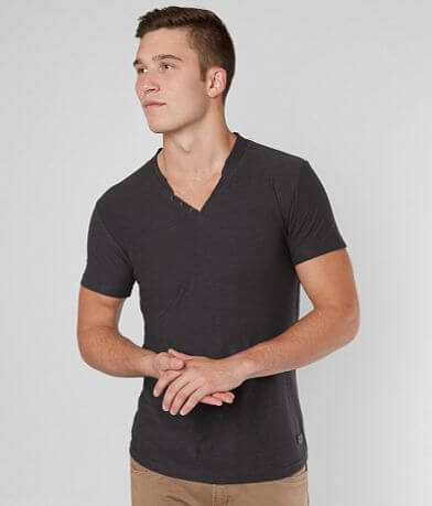 Outpost Makers Faux Henley T-Shirt