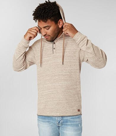 Outpost Makers Ribbed Henley Hoodie