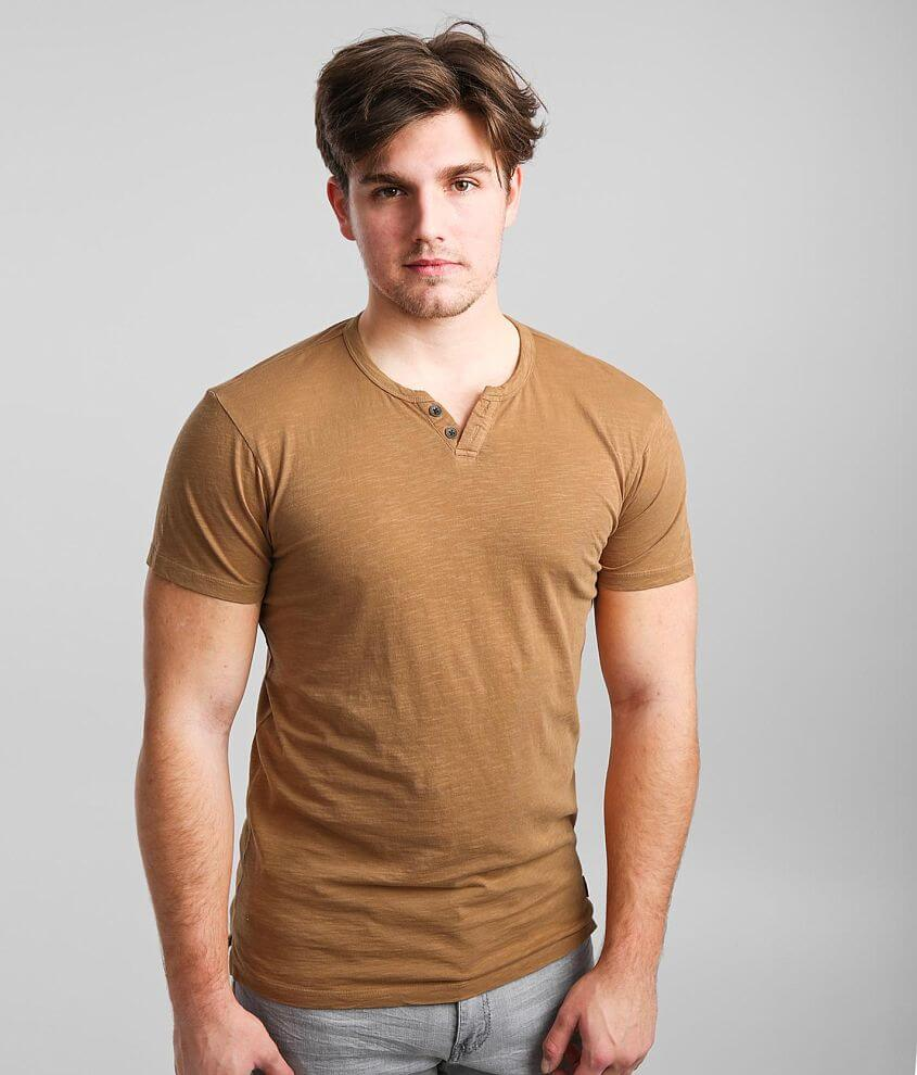 Outpost Makers Washed Henley front view