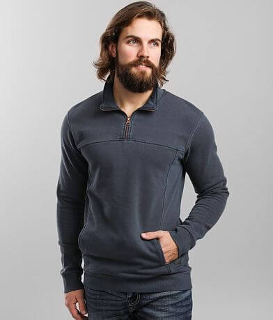 Outpost Makers Washed Quarter Zip Pullover