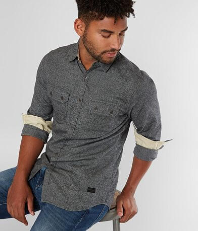Outpost Makers Mixed Yarn Shirt