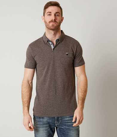 J.B. Holt Heathered Polo