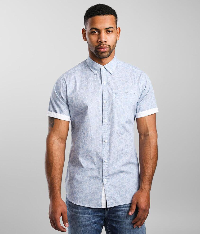 J.B. Holt Printed Athletic Stretch Shirt front view