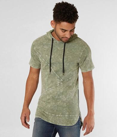 Nova Industries Drop Tail Hooded T-Shirt