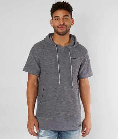 Nova Industries Raw Edge Hooded T-Shirt
