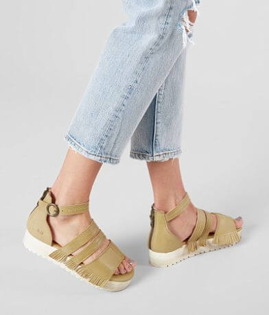 Bed Stu Strappy Leather Sandal