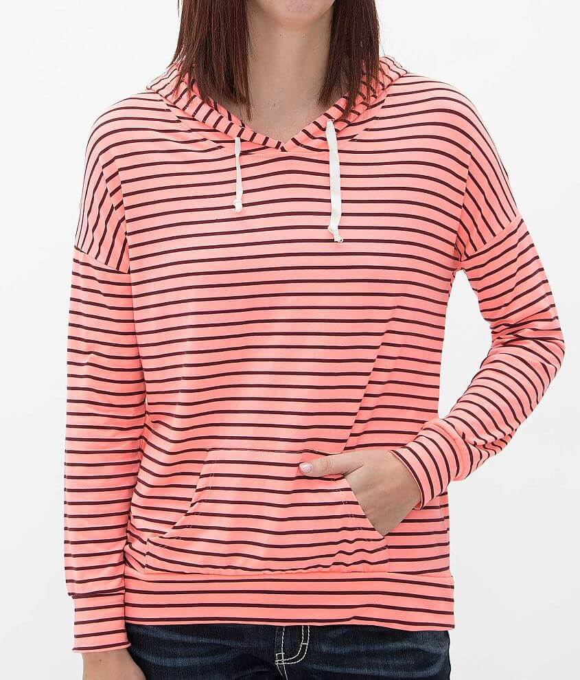 Daytrip Striped Hoodie front view
